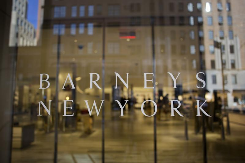 Barneys New York store chain files for bankruptcy