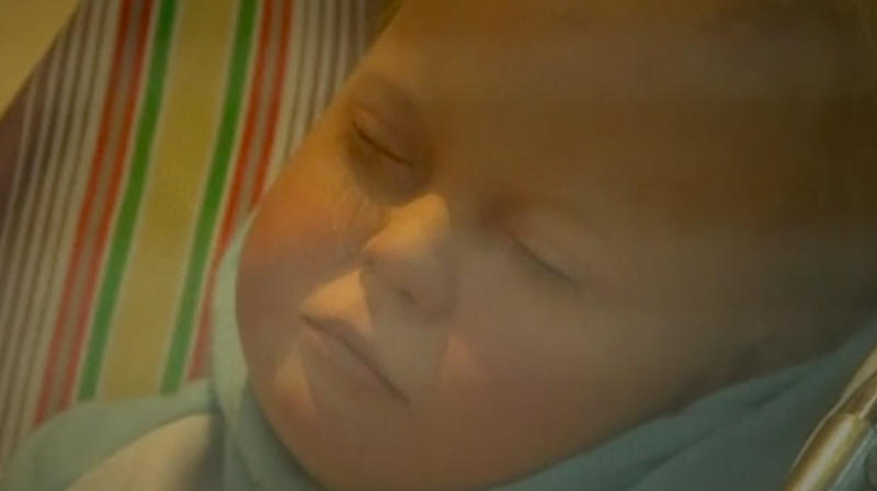 Lifelike Baby Sculpture In Store Window Is Creeping People Out