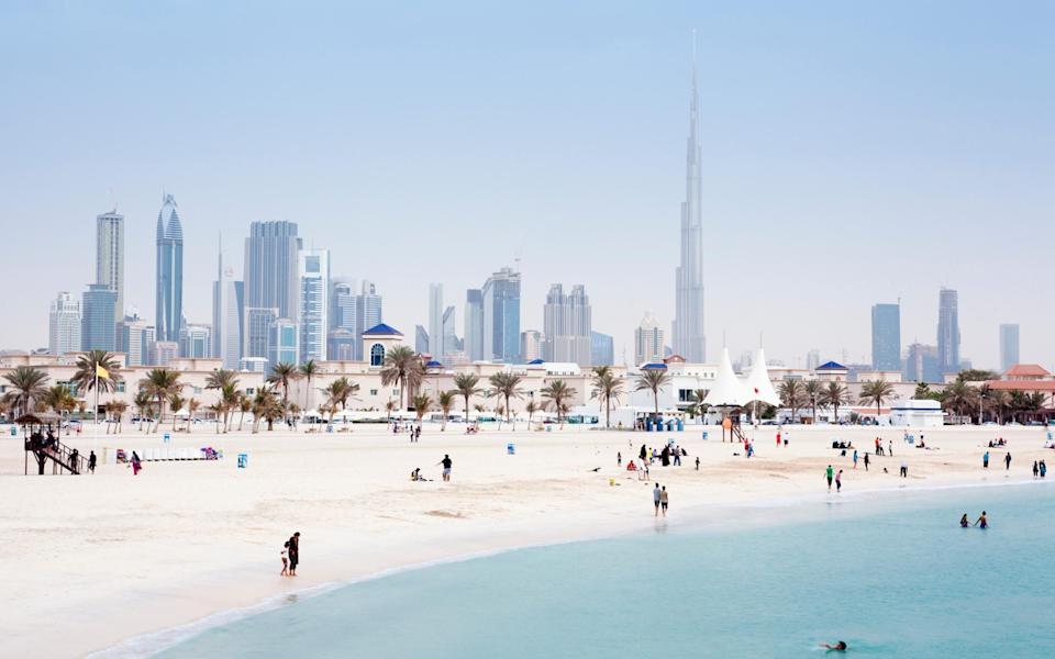 Dubai is open to British tourists, and is a good option for winter sun - Getty