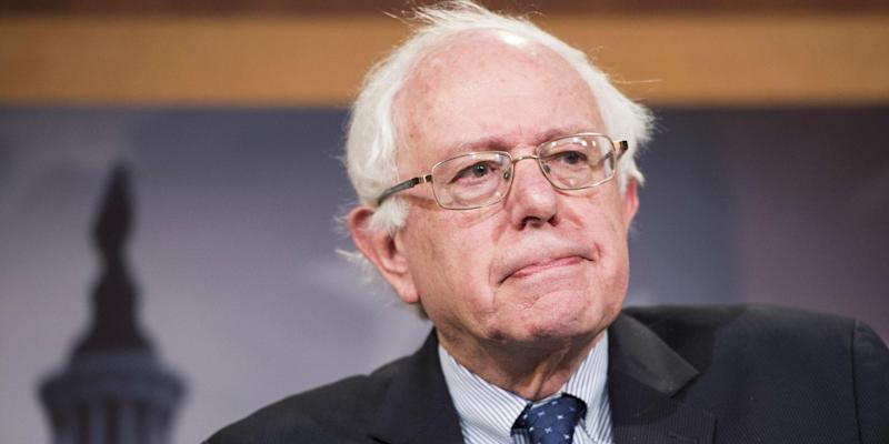 Mr Sanders has long warned of the dangers of climate change: AP