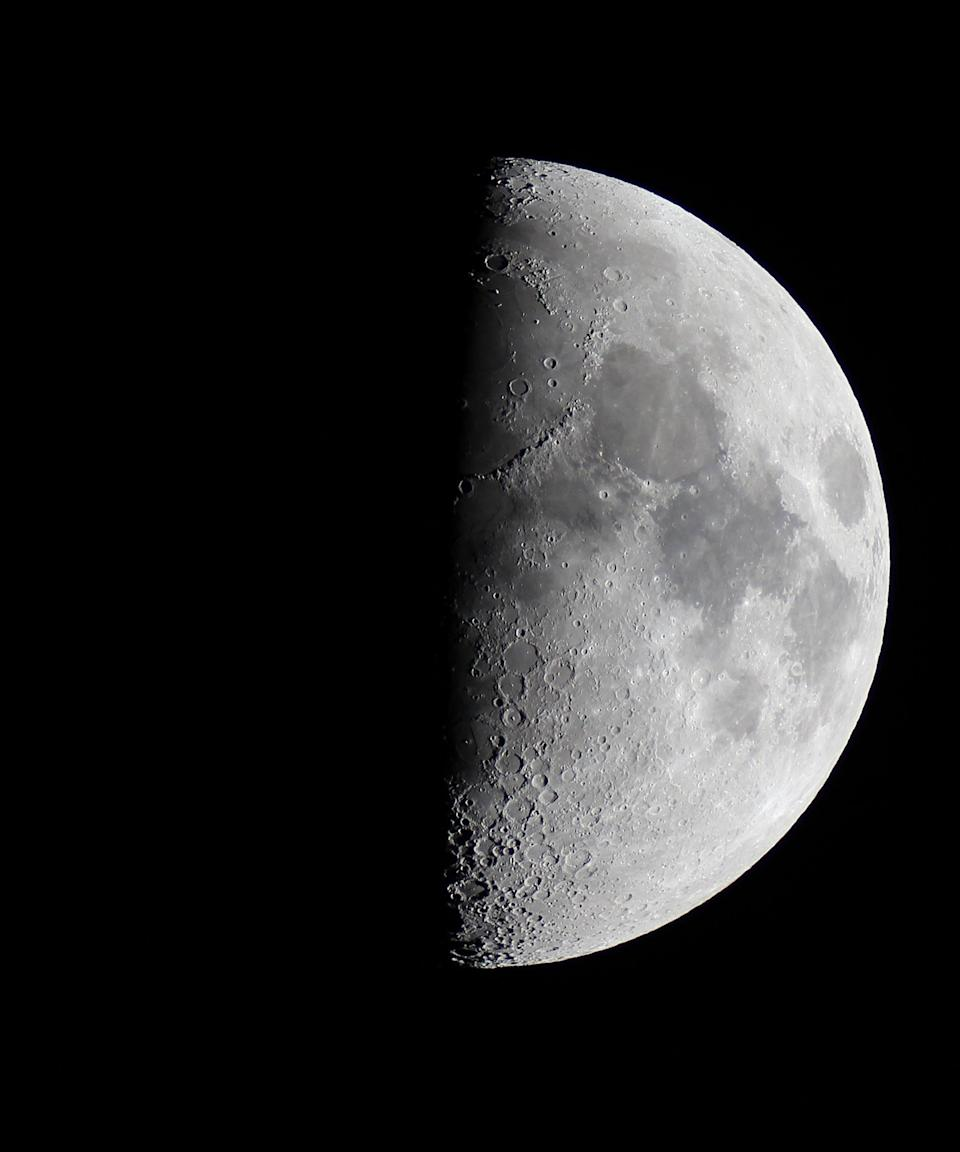 """<h2>First Quarter</h2> <br>The first quarter moon is a time to take action, says Arriana. """"Be brave as you set forth the changes you are planning and reaching for,"""" she encourages. """"This is when the Moon seems to be a half-moon, so you are still adding light to your plans."""" According to Hale, you may notice you tend to make more decisions during first quarter moons. <br> <br>Those born under this phase have a strong will and an ability to push through obstacles and make decisions. """"They often experience personal satisfaction at overcoming obstacles,"""" Hale says, """"but there can be a tendency toward escapism and a defeatist attitude on the negative side.""""<br><span class=""""copyright"""">Photo: Jamie Cooper/SSPL/Getty Images.</span><br><br><br><br>"""