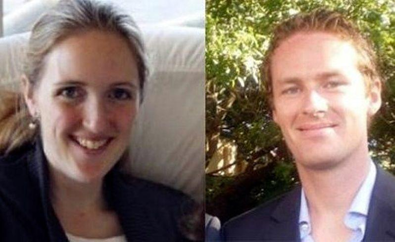 Sydney siege victims barrister Katrina Dawson and cafe manager Tori Johnson.