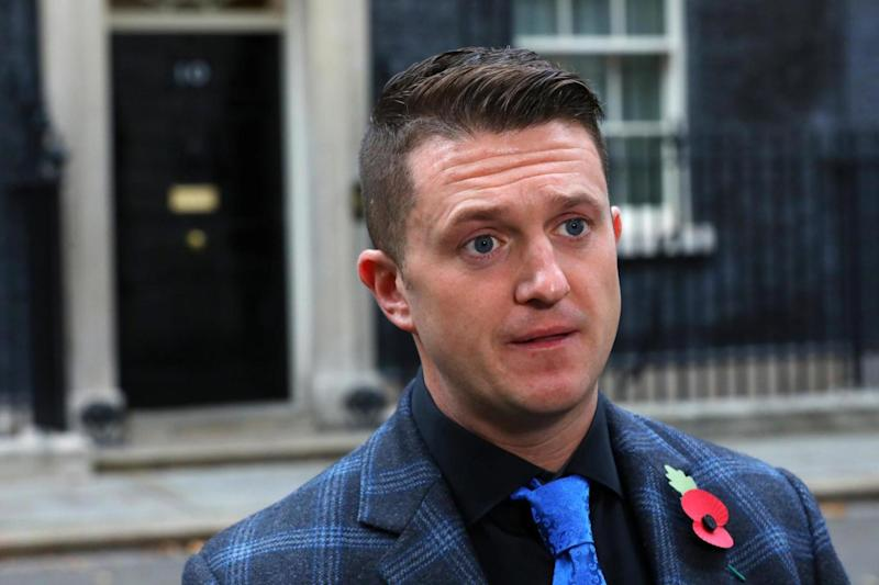 Tommy Robinson (Reuters)