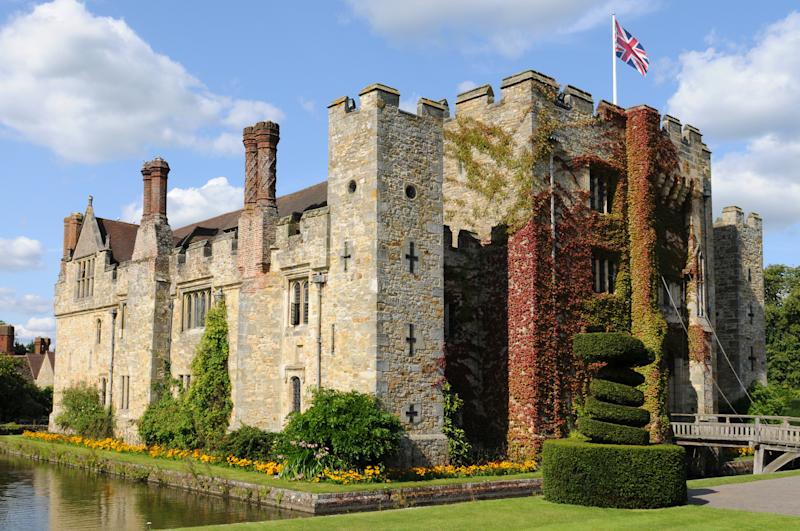 Hever Castle was the home of Anne Boleyn, the second wife of King Henry VIII who was beheaded