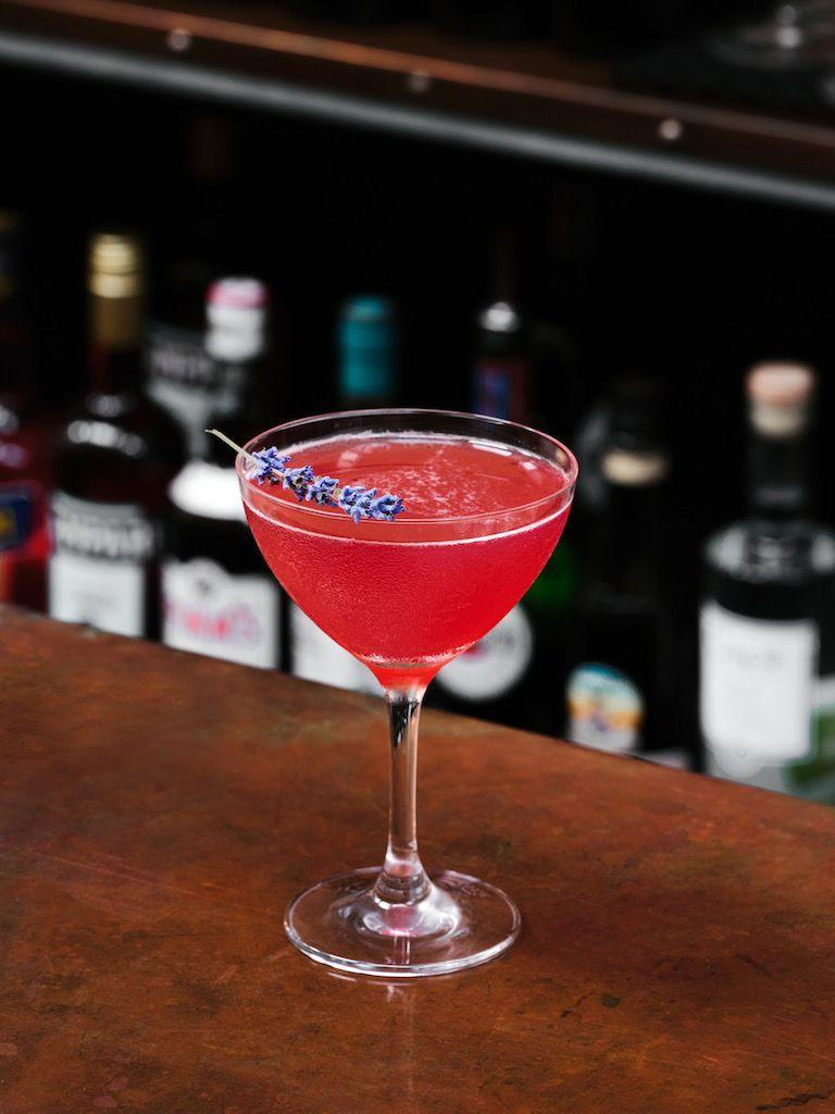 "<p><strong>Ingredients:</strong></p><p>2 oz Aviation American Gin</p><p>3 muddled blackberries</p><p>3/4 oz. housemade lavender syrup</p><p>1 oz. fresh squeezed lemon juice</p><p>Lavender sprig</p><p><strong>Directions:</strong></p><p> Combine all in a shaker with ice cubes and shake. Garnished your drink with a lavender sprig. </p><p><em>Courtesy of <a href=""https://urldefense.com/v3/__https://www.elaiaestiatorio.com__;!!Ivohdkk!3O7xG5iGkVsOTIqPqV_S5HFdhOgKv62T0EGfzd8R6fnyVFcsqEqPXksf4z-CPU0lf6iM$"" rel=""nofollow noopener"" target=""_blank"" data-ylk=""slk:Elaia Estiatorio"" class=""link rapid-noclick-resp"">Elaia Estiatorio</a>, Bridgehampton</em></p>"