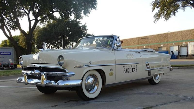 Steal The Show In This 1953 Ford Crestline Sunliner Indy 500 Pace Car
