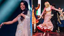 <p>Sophie, who is Joe Jonas' fiancee and Priyanka Chopra's soon-to-be sister-in-law, was seen joining in all the celebrations – from cheering with the bride in a picture from the mehendi ceremony to dancing at the sangeet in a red lehenga. Trolls however couldn't resist but share memes about Sophie's onscreen character Sansa Stark from Game of Thrones. Sophie came under criticism around a scene in which her <em>Game of Thrones</em> character Sansa Stark was sexually assaulted. She slammed critics and said, people need to stop making it such a taboo and makes it a discussion. </p>