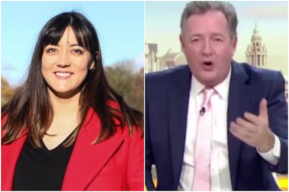 Labour MP Sarah Owen has blasted Piers Morgan