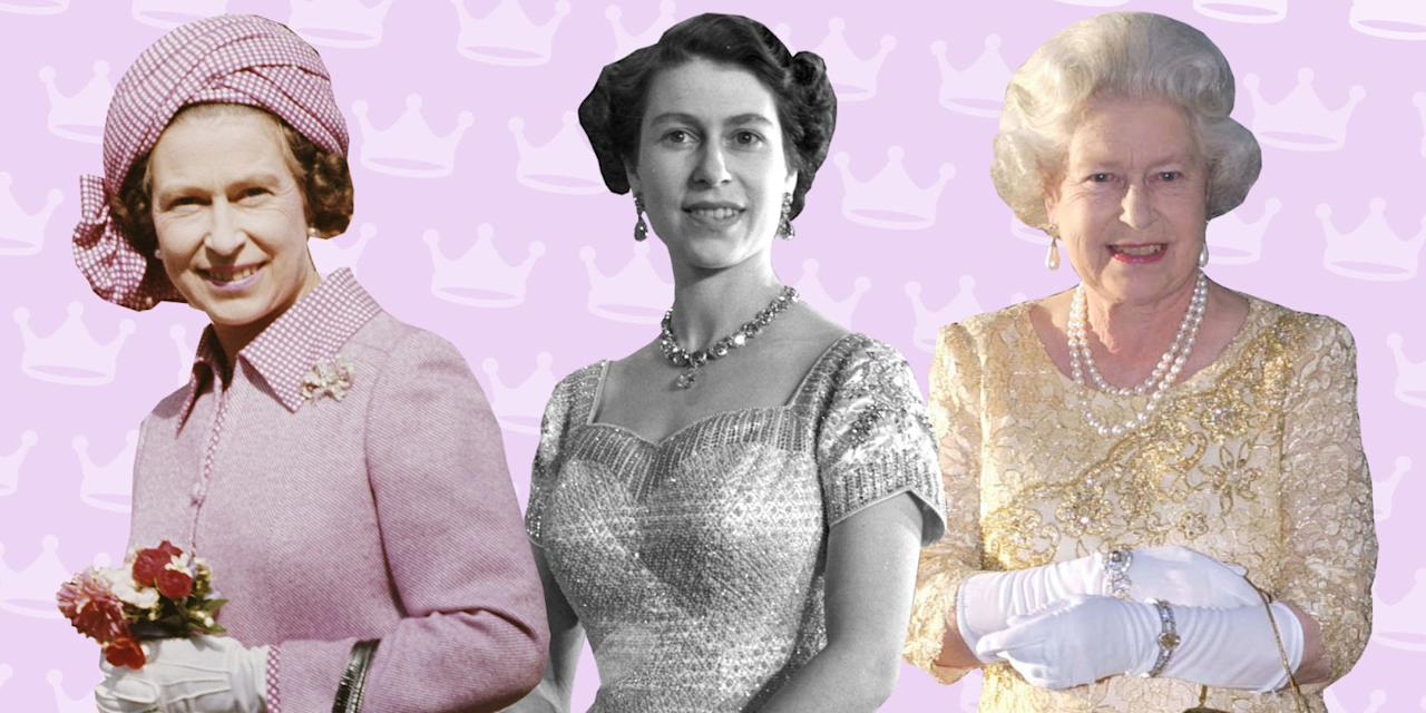 <p>When you're royalty, you've got to dress like it — something Queen Elizabeth II has always been a pro at. In honor of her 90th birthday, we've gathered some of her most remarkable looks. <em></em></p>