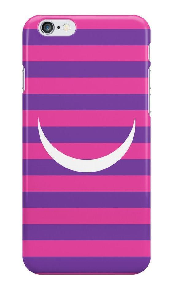 <p>This <span>Cheshire Cat case</span> ($21) is perfect for the minimalistic <b>Alice in Wonderland</b> fan!</p>