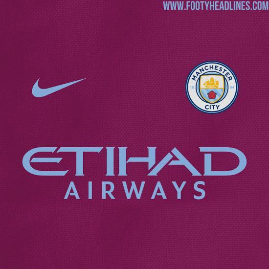 <p>Hm. Claret and blue doesn't really reek of Manchester City. Instead memories of Aston Villa (remember them?) and West Ham spring to mind, but could this be the away kit Pep Guardiola's men play in? </p>