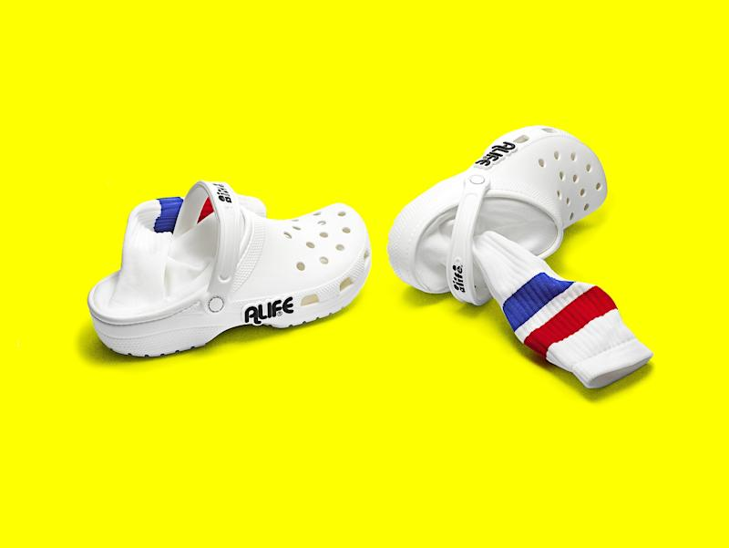 0b2304183764 These Crocs-with-Socks Make a Case for the Luxury Clog