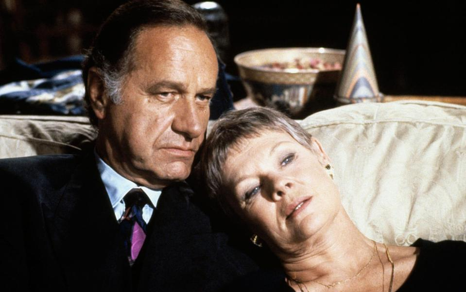 Geoffrey Palmer and Judi Dench in As Time Goes By; the pair became firm friends outside the set too - Alamy