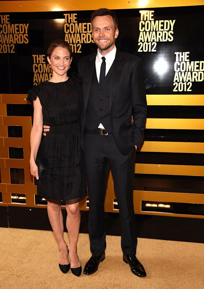 Joel McHale attends The Comedy Awards 2012 at Hammerstein Ballroom on April 28, 2012 in New York City.