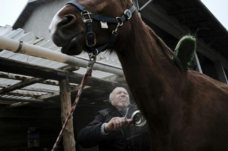 Sixty-three year-old Anfosso has been making his house calls to patients on horseback for 10 years