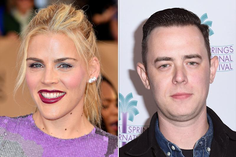 colin hanks reunites with college ex-girlfriend busy philipps for