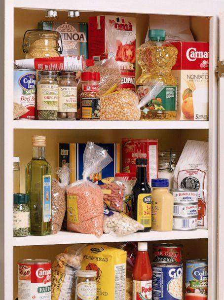 PHOTO: Stock photo of kitchen pantry.  (STOCK PHOTO/Getty Images)