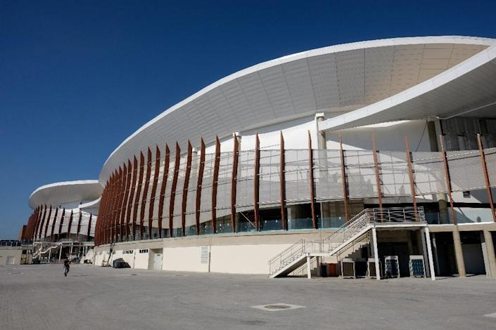 The Olympic Park's Carioca Arena 2 will host sports events during the Rio 2016 Olympic Games in Brazil (AFP Photo/Yasuyoshi Chiba)