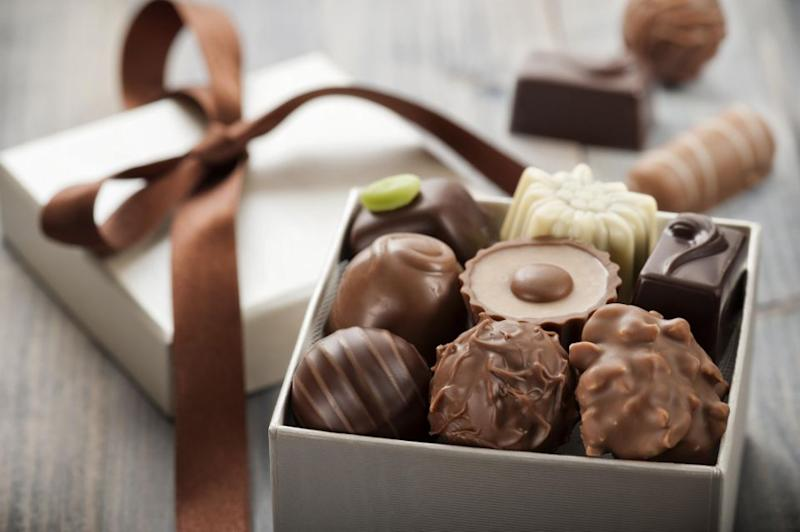Lots of chocolate is consumed on Valentine's Day. Photo: Getty