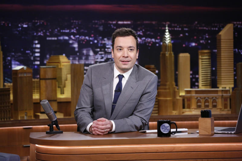 First night a hit for 'Tonight' host Jimmy Fallon