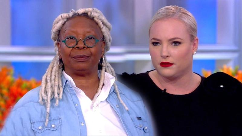 Whoopi Goldberg and Meghan McCain Have Another Awkward Exchange on 'The View': 'Whoopi Gets to Do Her Job'