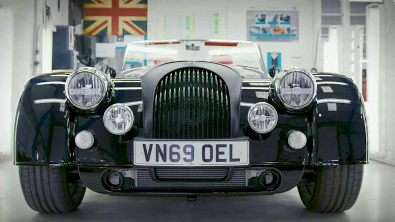Richard Hammond Owns A 2020 Morgan Plus Six