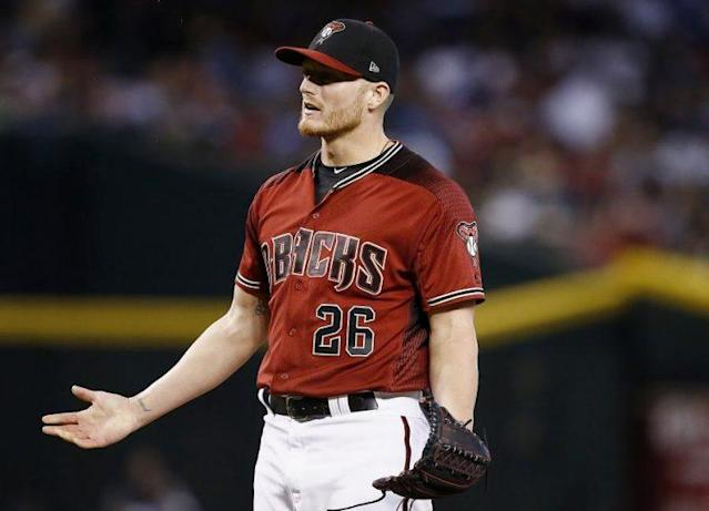 Diamondbacks right-hander Shelby Miller might be headed for Tommy John surgery after being diagnosed with a UCL tear. (AP)