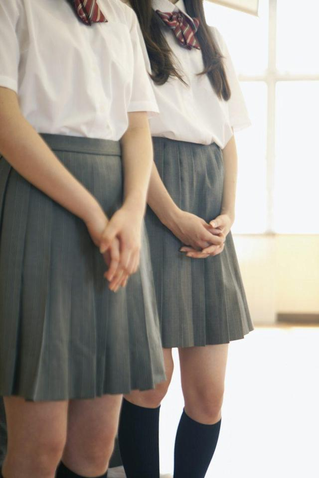 A school has been accused of sexism for asking parents to measure the length of girls' skirts. [Photo: Getty]