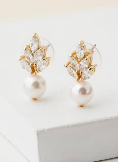 Stephanie Browne Bocheron Pearl Earrings, $135 from The Iconic. Photo: The Iconic.