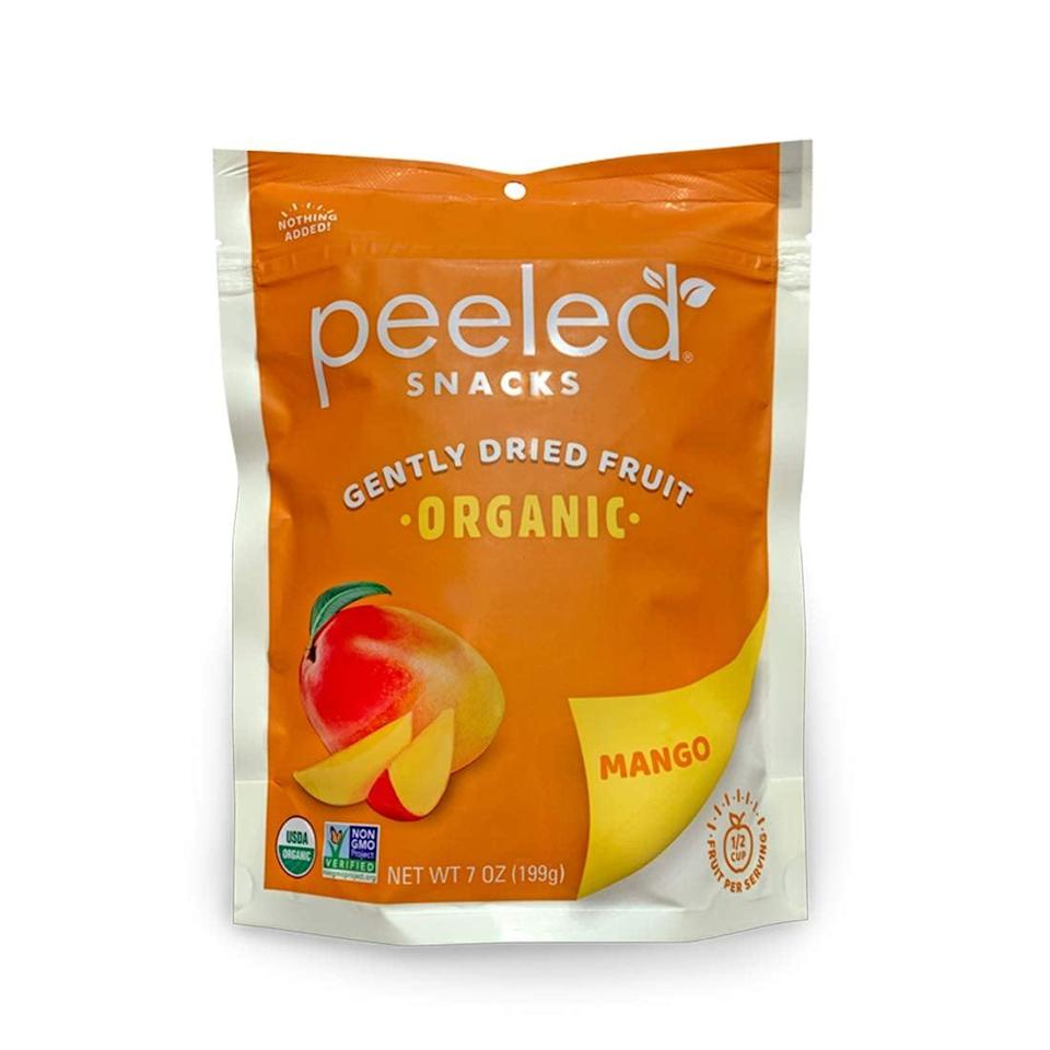 <p>This <span>Organic Dried Mango Snack</span> ($10) packs some antioxidants and fiber, making it a great on-the-go snack.</p>