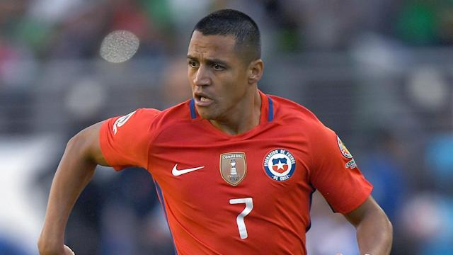 Alexis Sanchez of Chile could yet be fit to face Argentina despite suffering an ankle injury in Arsenal's loss to West Brom.