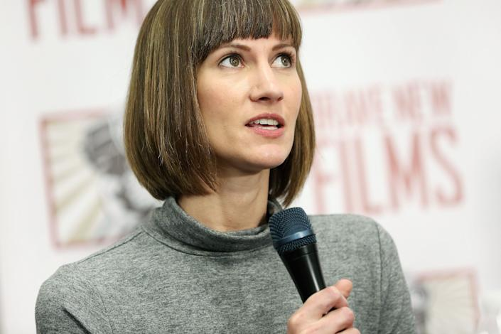 Rachel Crooks said she wants to be a voice for all the women who have been sexually harassed. (Photo: Monica Schipper via Getty Images)