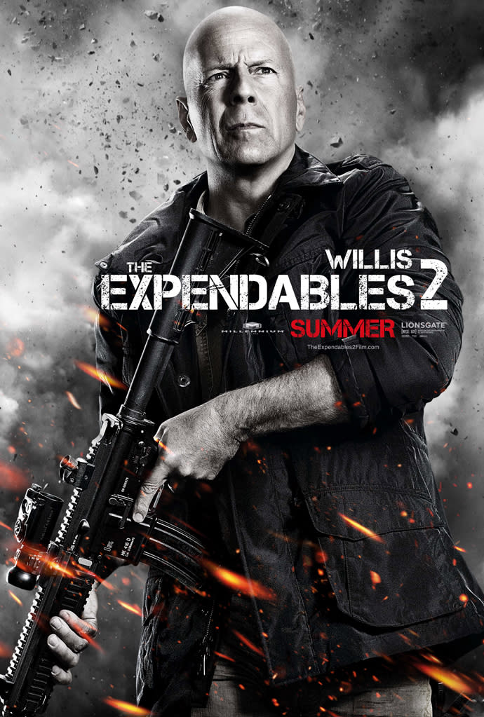 """Bruce Willis in Lionsgate's """"The Expendables 2"""" - 2012"""