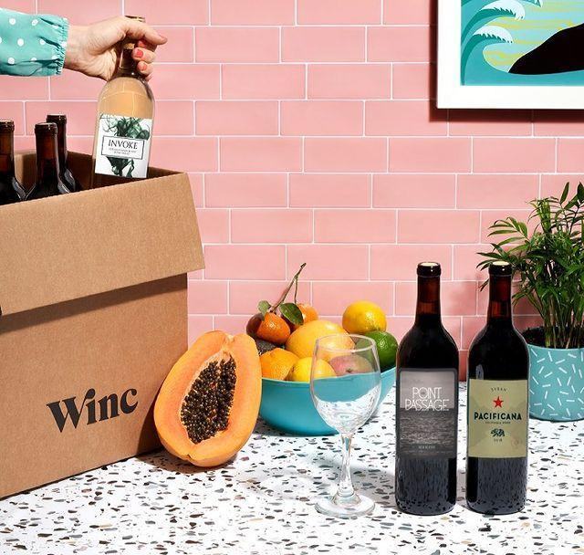 """<p>If you want wine delivery customized to your taste, a wine subscription box is the way to go. Winc asks customers a series of questions, ranging from how you like your coffee to your opinions on salt, and then guide you towards wine options they think you'll enjoy. You can then rate each bottle so the site will learn your tastes. Fear not, though, you can also customize your own box.</p><p><a class=""""link rapid-noclick-resp"""" href=""""https://go.redirectingat.com?id=74968X1596630&url=https%3A%2F%2Fwww.winc.com&sref=https%3A%2F%2Fwww.townandcountrymag.com%2Fleisure%2Fdrinks%2Fg31704610%2Fbest-alcohol-delivery-services%2F"""" rel=""""nofollow noopener"""" target=""""_blank"""" data-ylk=""""slk:SHOP NOW"""">SHOP NOW</a> </p><p><strong>More: </strong><a href=""""https://www.townandcountrymag.com/leisure/drinks/g27615659/best-wine-subscription-boxes/"""" rel=""""nofollow noopener"""" target=""""_blank"""" data-ylk=""""slk:The Best Wine Subscription Services"""" class=""""link rapid-noclick-resp"""">The Best Wine Subscription Services</a></p><p><a href=""""https://www.instagram.com/p/CM28T9-HaN8/?utm_source=ig_embed&utm_campaign=loading"""" rel=""""nofollow noopener"""" target=""""_blank"""" data-ylk=""""slk:See the original post on Instagram"""" class=""""link rapid-noclick-resp"""">See the original post on Instagram</a></p>"""