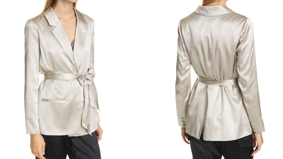 Cami NYC Belted Silk Jacket - Nordstrom, $141 (originally $352)