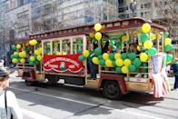 """<p>Take your trip to the <a href=""""https://go.redirectingat.com?id=74968X1596630&url=https%3A%2F%2Fwww.tripadvisor.com%2FTourism-g60713-San_Francisco_California-Vacations.html&sref=https%3A%2F%2Fwww.countryliving.com%2Flife%2Fg26240477%2Fst-patricks-day-events%2F"""" rel=""""nofollow noopener"""" target=""""_blank"""" data-ylk=""""slk:Golden State"""" class=""""link rapid-noclick-resp"""">Golden State</a> for """"the largest St. Patrick's Day parade west of the Mississippi,"""" according to the <a href=""""http://uissf.org/"""" rel=""""nofollow noopener"""" target=""""_blank"""" data-ylk=""""slk:The United Irish Societies of San Francisco's website"""" class=""""link rapid-noclick-resp"""">The United Irish Societies of San Francisco's website</a>. The 2021 parade is planned as a virtual event. </p>"""