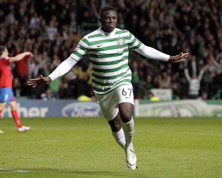 Celtic's Victor Wanyama in Glasgow on August 29, 2012