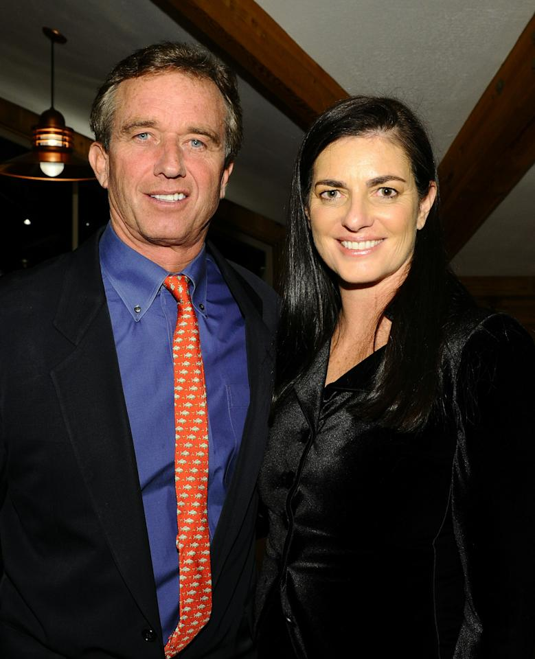 SALT LAKE CITY, UT - DECEMBER 04:  Robert F. Kennedy Jr. (L) and Mary Kennedy attend the gala fundraiser in support of the Waterkeeper Alliance at the 19th Annual Deer Valley Celebrity Skifest at the Deer Valley Resort on December 4, 2010 in Salt Lake City, Utah.  (Photo by Michael Buckner/Getty Images)