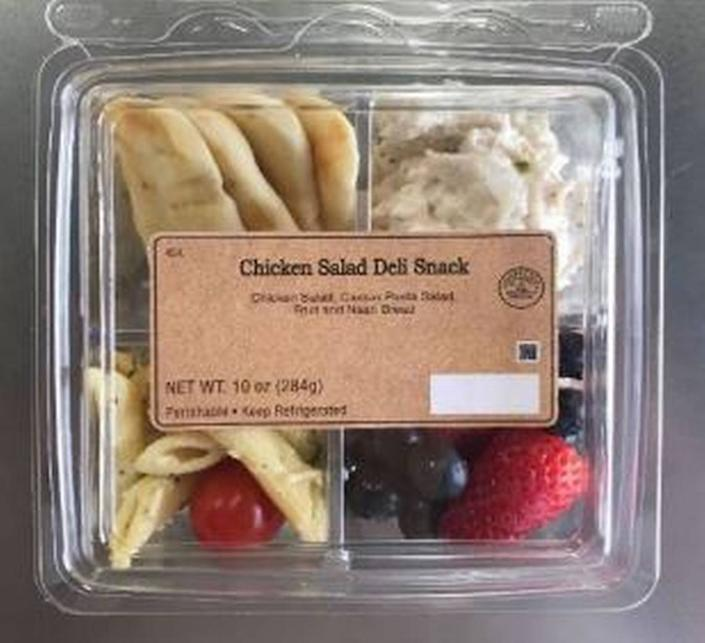 Walmart Chicken Salad Deli Snack