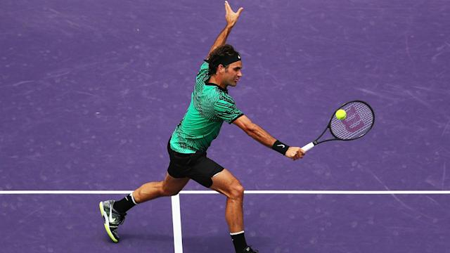 Rafael Nadal once again suffered defeat at the hands of a rejuvenated Roger Federer, who has won three titles in four tournaments this year.