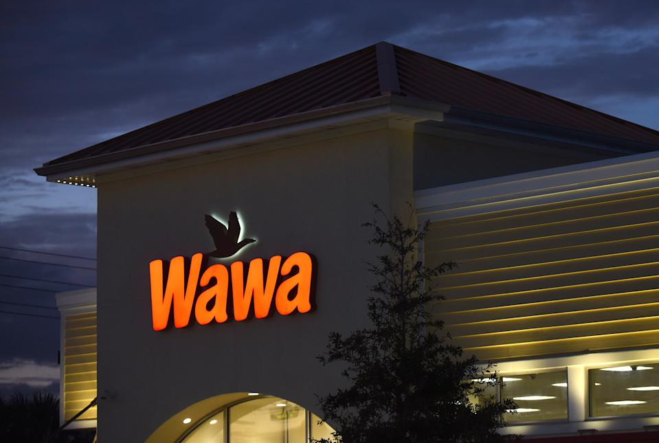 ORLANDO, UNITED STATES - 2019/12/19: A  Wawa convenience store and gas station seen on the day the company's CEO announced that the firm is investigating a massive data breach that has potentially affected all 700 of their locations. Malware discovered on Wawa payment processing servers on December 10, 2019 affected customers' credit and debit card information from March 4, 2019 until the breach was contained on December 12, 2019. (Photo by Paul Hennessy/SOPA Images/LightRocket via Getty Images)