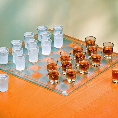 <p>This <span>Shot Glass Checkers Game</span> ($35) will take the party up a notch. Bring the chess-lovers in your life together for a fun time.</p>