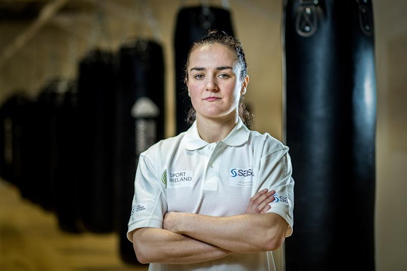 Kellie Harrington is hoping to pack a punch at Tokyo 2020