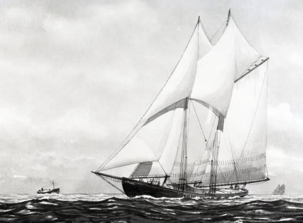 In this painting by John Leavitt, the L.A. Dunton is a thing of beauty. Her restoration and preservation at the Mystic Museum ensures that not all of these vessels are lost to time. (Martel - image credit)