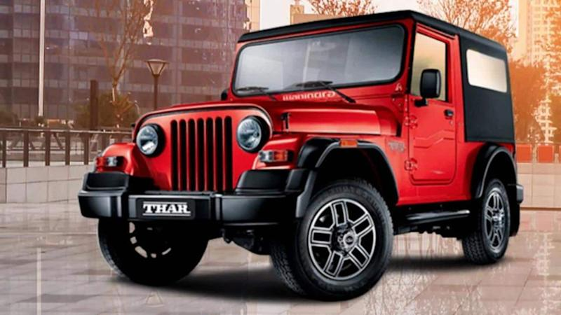 2020 Mahindra Thar SUV spotted once again, key features revealed