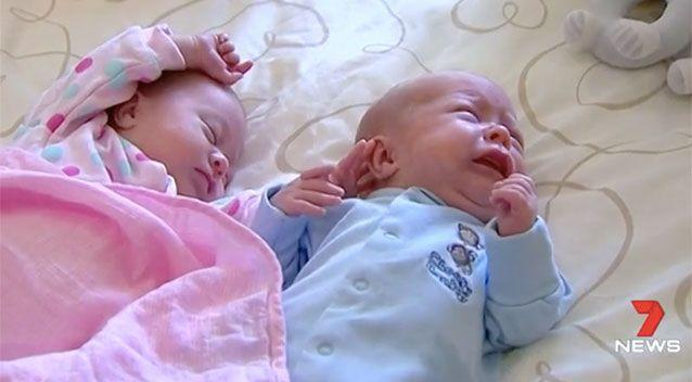 It is not known what causes excessive crying in babies with colic. Source: 7 News