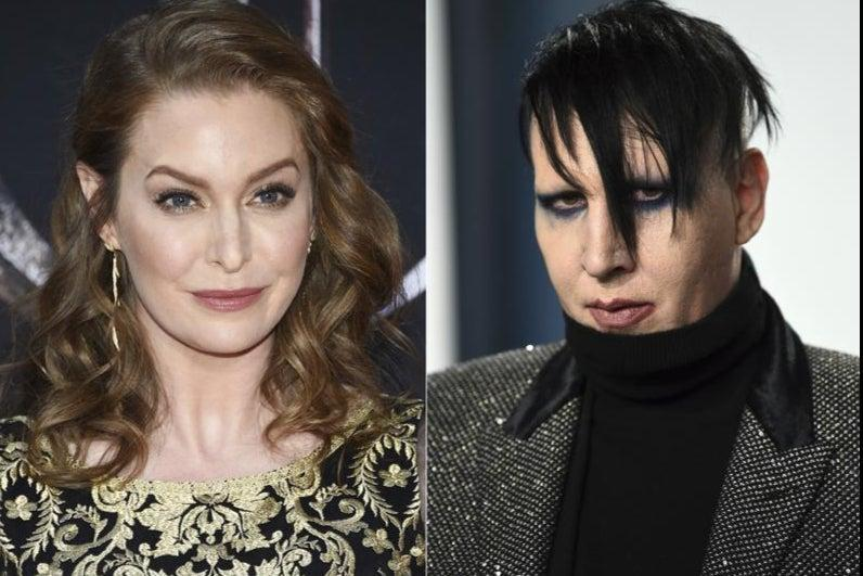 <p>Game of Thrones actor Esmé Bianco has sued Marilyn Manson for sexual, emotional and physical abuse </p> (AP)
