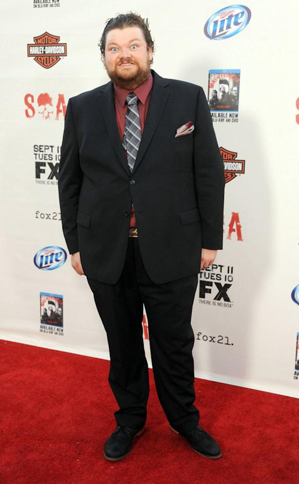 """Chris Reed attends the """"Sons of Anarchy"""" Season 5 premiere screening at Westwood Village on September 8, 2012 in Los Angeles, California."""