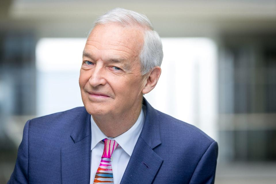 Channel 4 News presenter Jon Snow, 73, has decided to step down from his role after 32 years (Channel 4 News/PA)