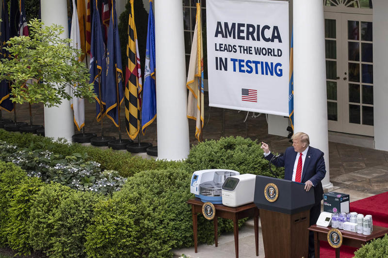 A metrics-obsessed White House struggles to define success on coronavirus